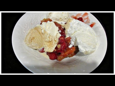 Cherry Cobbler Recipe! Quick, Easy And Yummy!