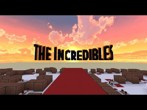 The Incredibles - The Glory Days [Minecraft Noteblocks]