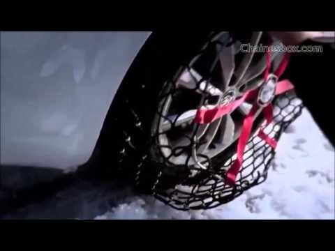 chaine neige michelin easy grip montage youtube
