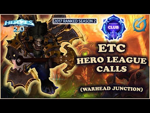Grubby | Heroes of the Storm 2.0 - ETC - Hero League Calls - HL 2017 S2 - Warhead Junction
