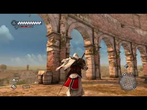 Assassin's Creed Brotherhood free roam, Parkour and Combat gameplay