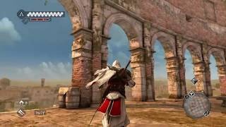 Assassin's Creed Brotherhood free roam, Parkour and Combat gameplay