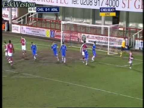 Chelsea Reserves v Arsenal Reserves (H) 09/10