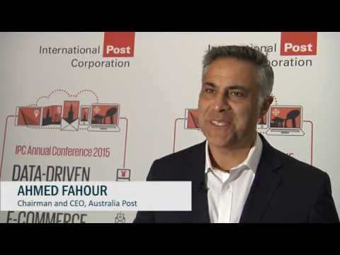 How e-Commerce benefits from the digital strategy - Ahmed Fahour, CEO of Australia Post