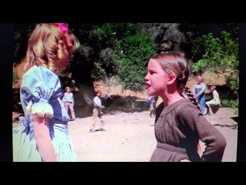 1st fight ... Laura Ingalls and Nellie Oleson