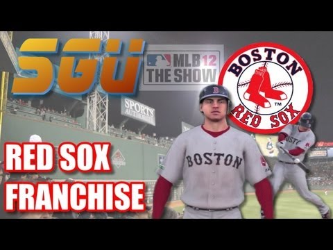 Red Sox Franchise LIVE! (MLB 12 The Show)