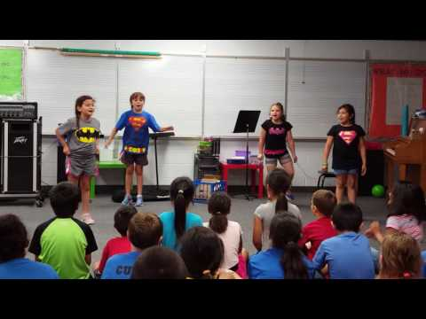 """2nd grade talent show """"Fight Song"""""""