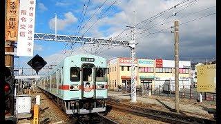 西鉄5000形 急行「初詣号」太宰府行き到着・普通 太宰府行き発車
