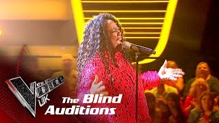 Wendi Harriott Performs 'Satisfaction': Blind Auditions | The Voice UK 2018