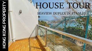 HOUSE TOUR | CUTE DUPLEX WITH SEA VIEWS IN STANLEY | HONG KONG