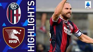 Bologna 3 2 Salernitana Bologna debut with a victory Serie A 2021 22