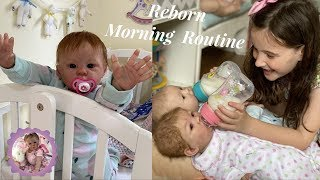 Reborn Morning Routine with a Toddler and Newborn Twins