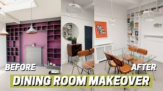 DINING ROOM MAKEOVER! 🔥