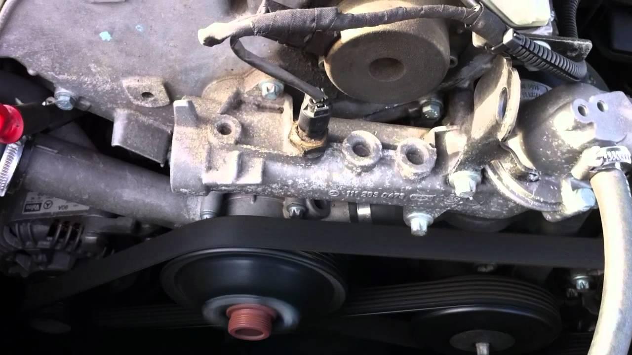 W208 Motor Klopfen Klappern Youtube