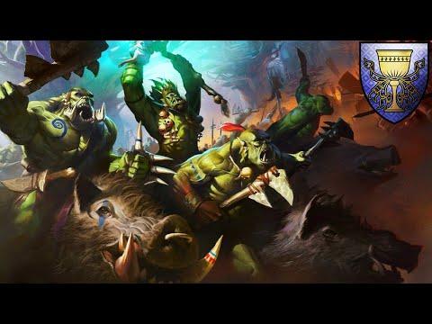 PIGTONIA - A Bruising Boar Boyz Build - Greenskins vs. Bretonnia - Total War Warhammer 2 |