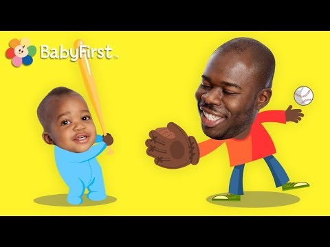 Family Song   Daddy Song   Nursery Rhymes for Children   BabyFirst Father's Day