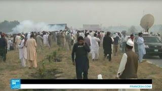 حزب العدالة الباكستاني يهدد بالزحف إلى إسلام آباد وإغلاقها