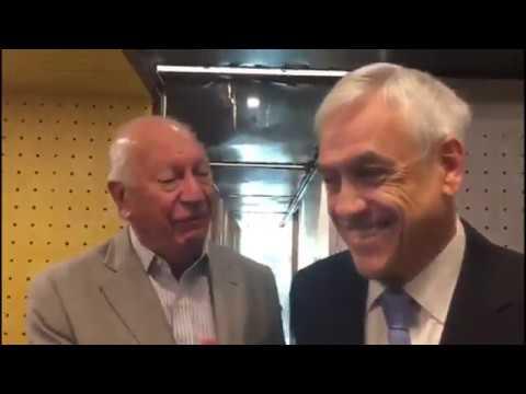 "Lagos a Piñera: ""Ahi te caíste"""