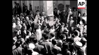 British Troops In Greece  - NO SOUND