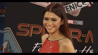 Zendaya arrives at 'Spider-Man: Far From Home' film premiere