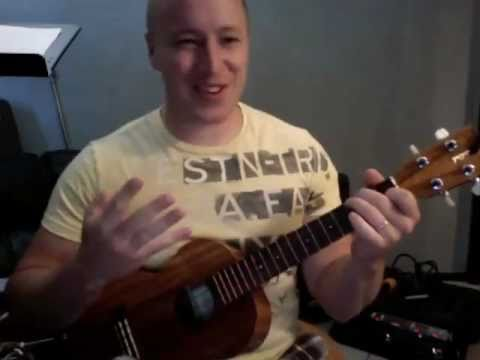 Rolling In The Deep Adele Ukulele Lesson Todd Downing Youtube