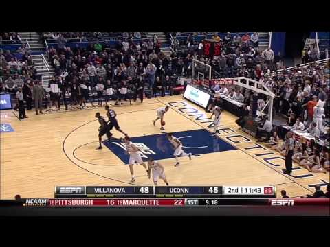 Ryan Arcidiacono to James Bell: Half-Court Alley-Oop Dunk