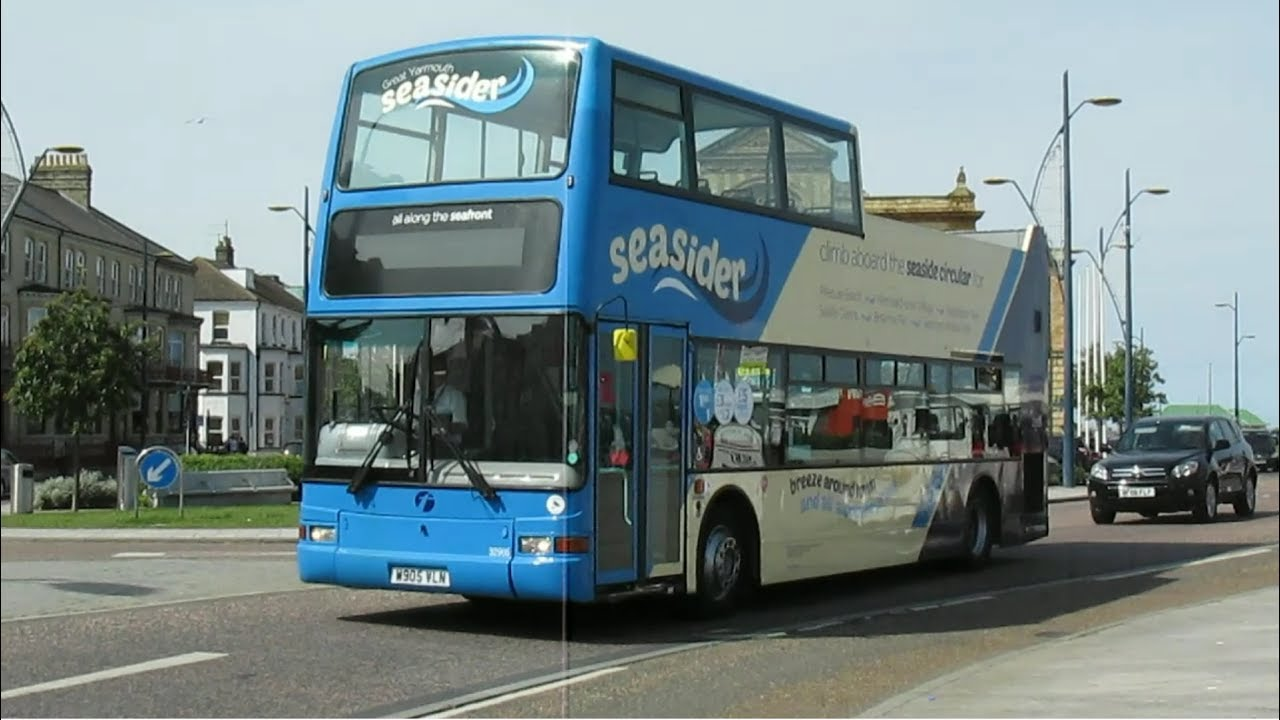 Buses Trains At Great Yarmouth Spring 2017