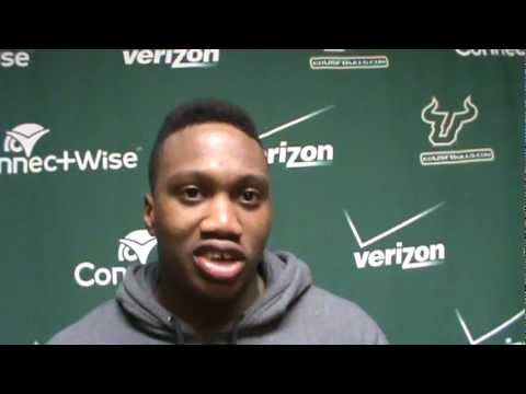 USF WR Andre Davis talks spring football