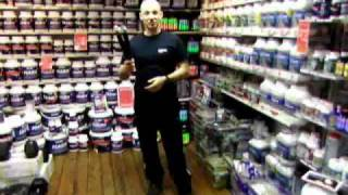 Nunchaku Demonstration with Safety Foam Nunchucks for Martial Arts Training