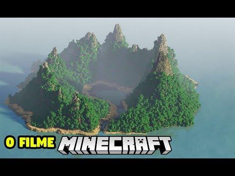 Minecraft | O FILME | PERDIDOS NA ILHA