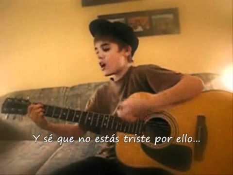 Cry me a river - Justin Bieber (Subtitulado en español) Justin Timberlake cover