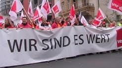 Streik des öffentlichen Dienstes in Frankfurt
