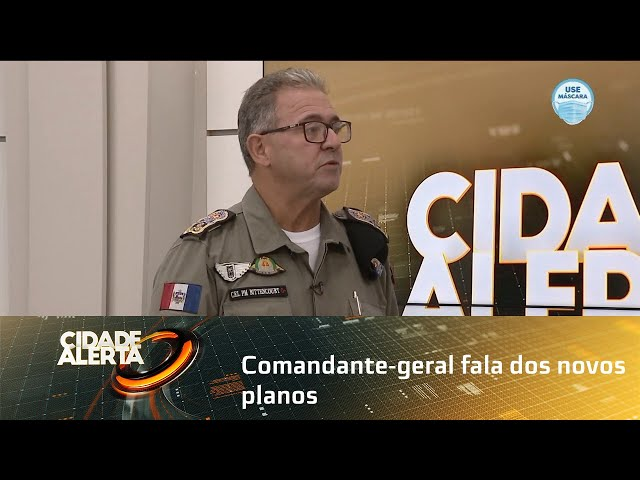 Comandante geral fala dos novos planos, formação de soldados e novo concurso