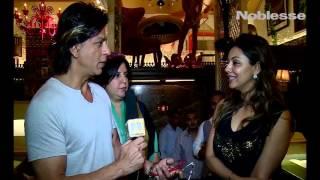 Шахрукх Кхан берет интервью у Гаури