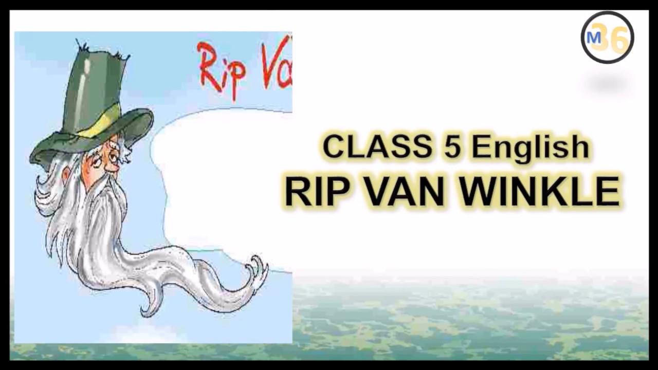 Rip Van Winkle - Class 5 | NCERT | Book Reading | Primary Smart Class
