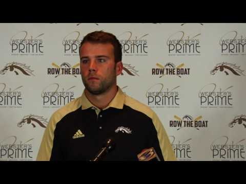 Western Michigan Football Northwestern Game Week Press Conference - Zach Terrell