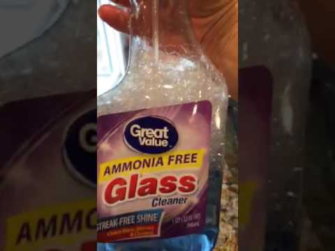 How To Clean The Grease Off The Oven Door Glass Youtube