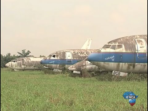 Recycling passenger planes in Nigeria
