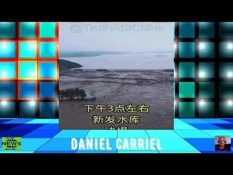 Chuvas provocam rompimento de barragens na China
