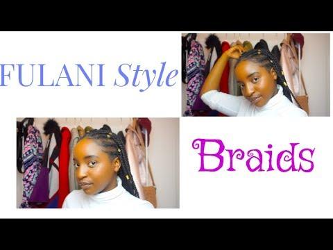 FULANI style Braids || FAIL?? itslissaemm