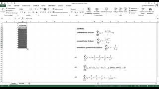 Mathe mit Excel - Folgen und Reihen - Tutorial