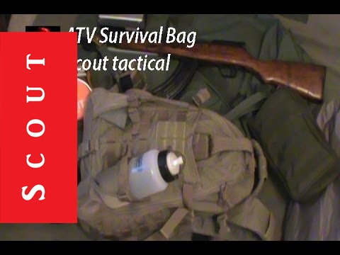 Vehicle Bug Out Bag - Scout Tactical