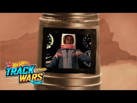 Mars Mission  Track Wars  Hot Wheels