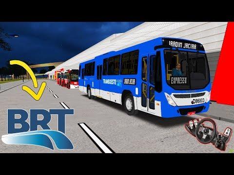 [OMSI 2] QUASE ATROPELEI um PEDESTRE! EXPRESSO BRT JACIRA l MAPA SAVOY9 ► G27