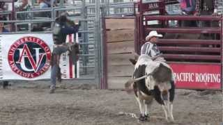 Bullriders in Slowmotion in Lancaster, California