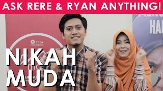 Nikah Muda? - Ressa Rere & Ryan Qory : Ask Us Anything!