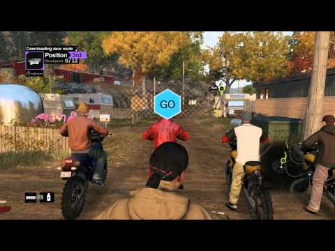 Hard8Times Vs. BrokenGamezHD - Watch Dogs Multiplayer Online Racing Part 1 (PC)