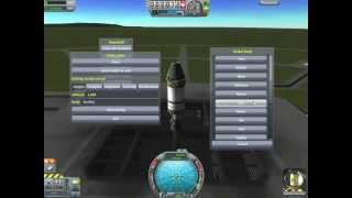 kerbal Space Program 0.19.1 как выйти на орбиту читерским способом обзор мода  Hyperedit