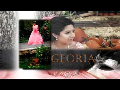 Gloria's XV photo montage