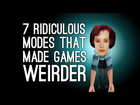 7 Ridiculous Modes That Made Games Weirder, Better